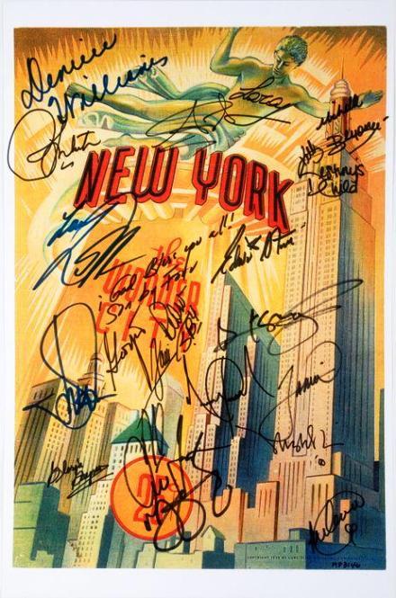 Lot No.332: Michael Jackson Signed Poster