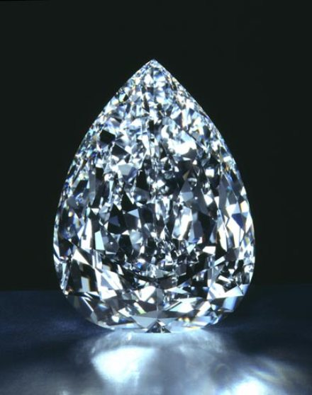 The externally and internally flawless Millennium Star Diamond - Another creation by master-cutter Matis Vitrol