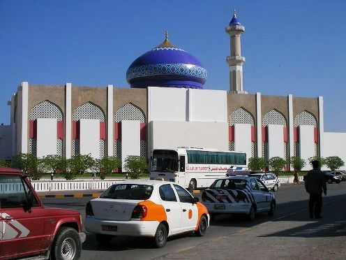A mosque in Ruwi- a suburb of Muscat Oman