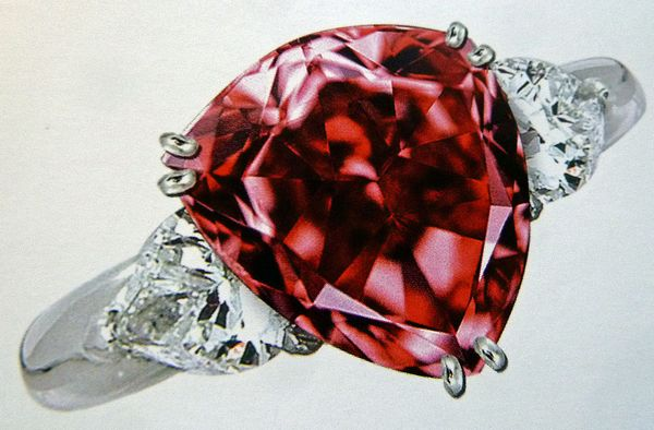 The Moussaiff Red Diamond Ring