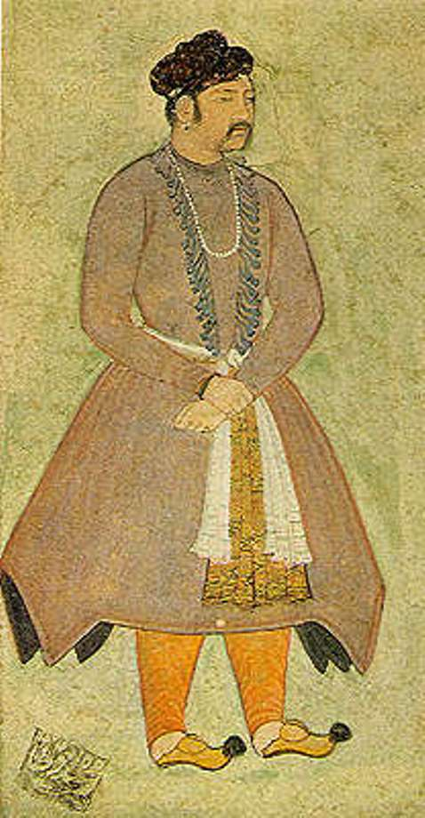 Mughal Padishah Akbar the Great (1556-1605) - Portrait by Manohar, Artist of the Mughal school