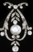 Pendant Produced by Dismantling the Centerpiece of the Tiara