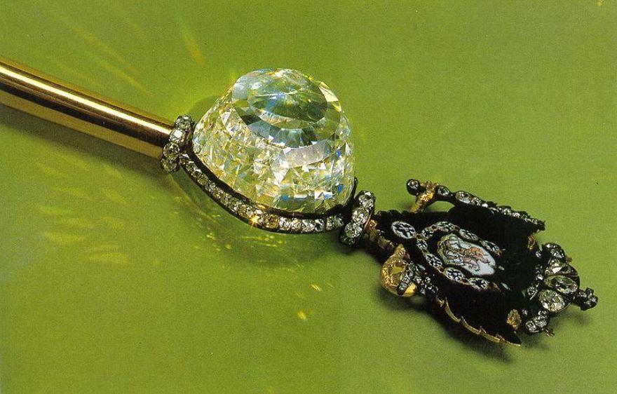 The Orlov Diamond in the Imperial Sceptor