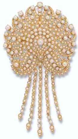 A Pearl Brooch Pendant