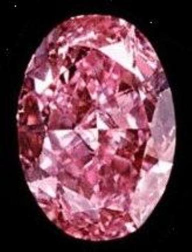 8.9-carat modern oval brilliant-cut Pink Muse Diamond