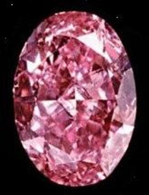 8.9-carat, oval-shaped Pink Muse Diamond