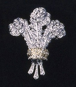 The Plume-Shaped Diamond Brooch