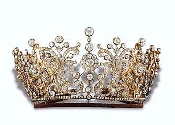 Poltimore Tiara which Princess Margaret wore on her wedding day