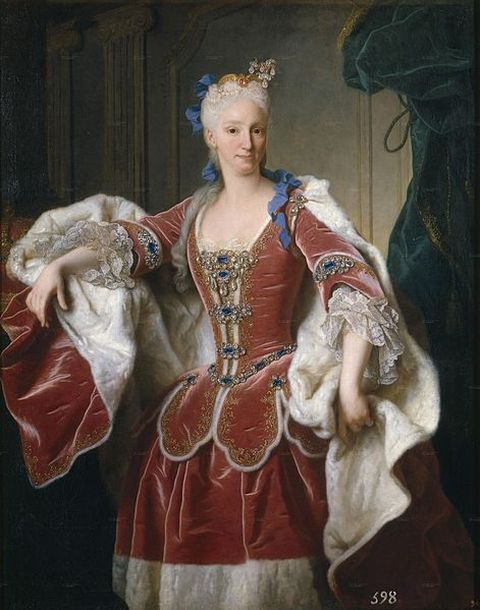 Portrait of Elizabeth Farnese - Queen of Spain by Jean Ranc