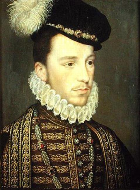 Portrait of Henry III by Jean Decourt executed in 1570