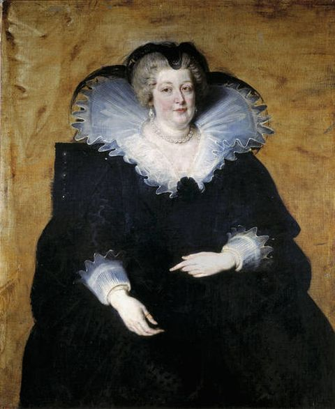 Portrait of Marie de Medici by Peter Paul Rubens executed around 1622 to 1625