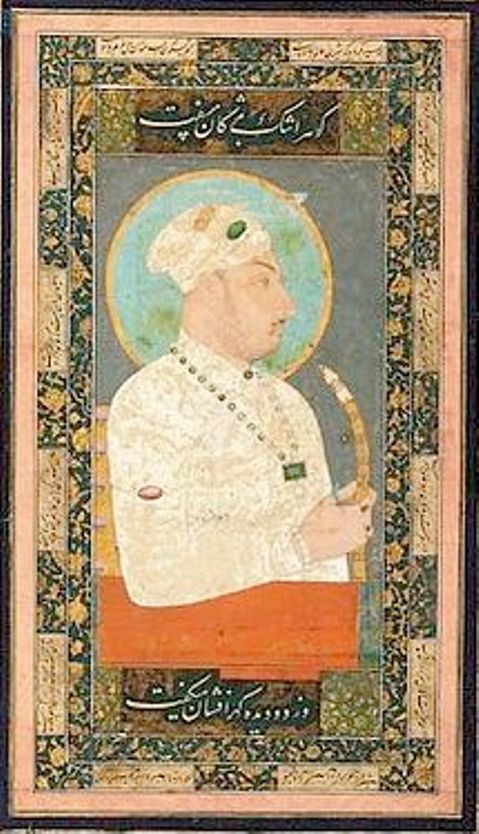 Portrait of Mughal Emperor Muhammad Shah (1719-1748)