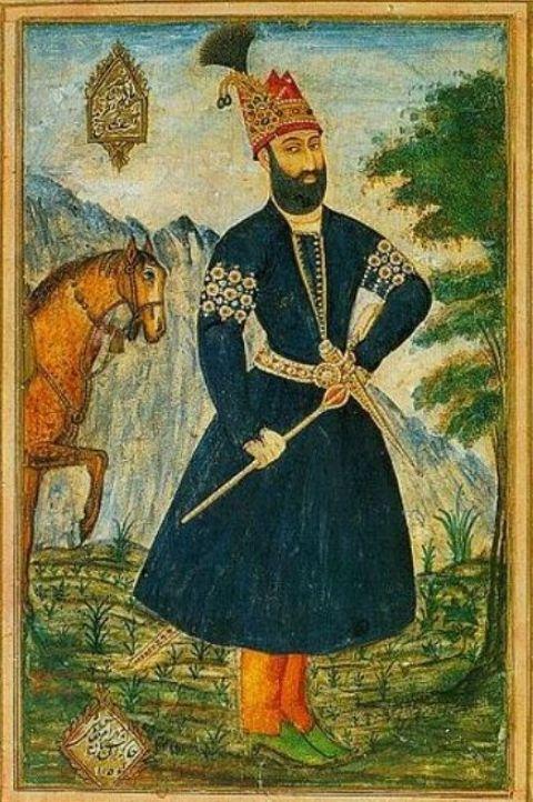 Portrait of Persian Conqueror Nadir Shah
