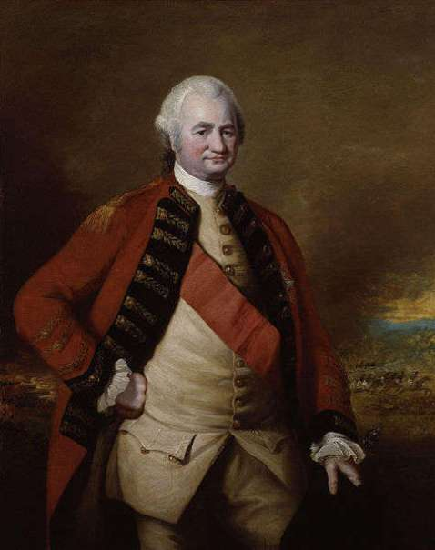 Portrait of Robert Clive, 1st Baron Clive by Nathaniel Dance executed between 1755 and 1774