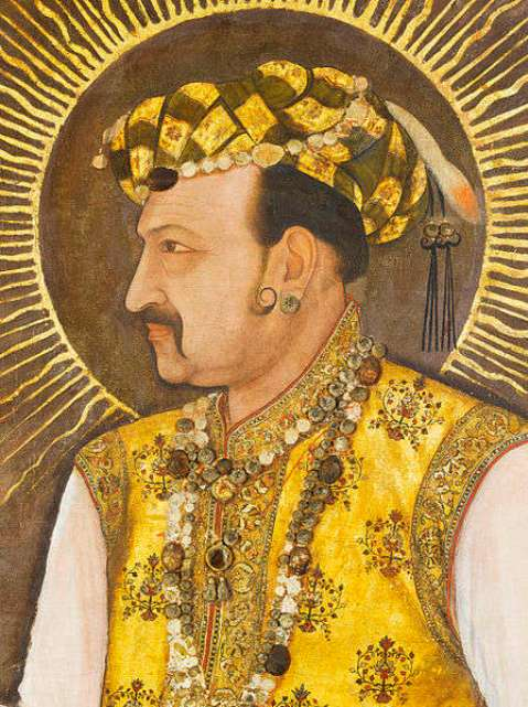Portrait of Shah Jahangir (1605-1627) by Abu'l Hassan in 1617