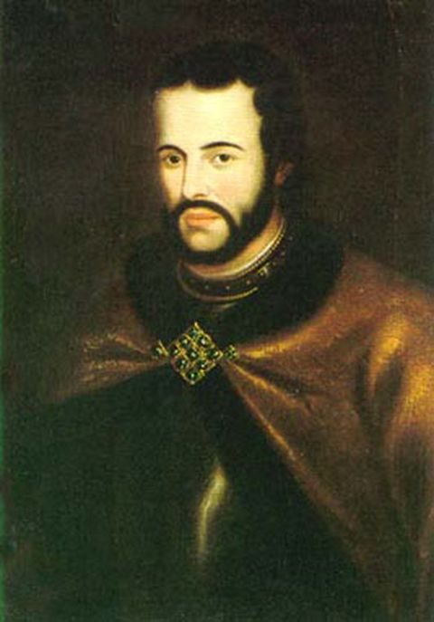 Portrait of Tsar Ivan V by unknown artist