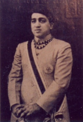 Pratapsingh Rao (1939-47), who was the last Gaekwar of Baroda, before the Princely State was absorbed  into the new Indian Republic created in 1947
