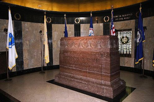 President Lincoln's burial room
