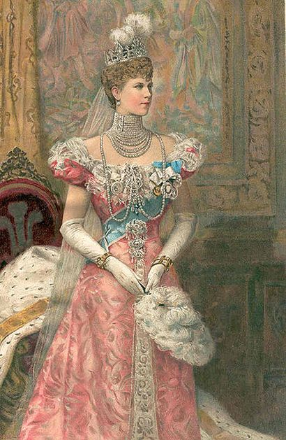 Princess of Wales, Victoria Mary at court in 1902