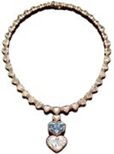 The Begum Blue Diamond Necklace