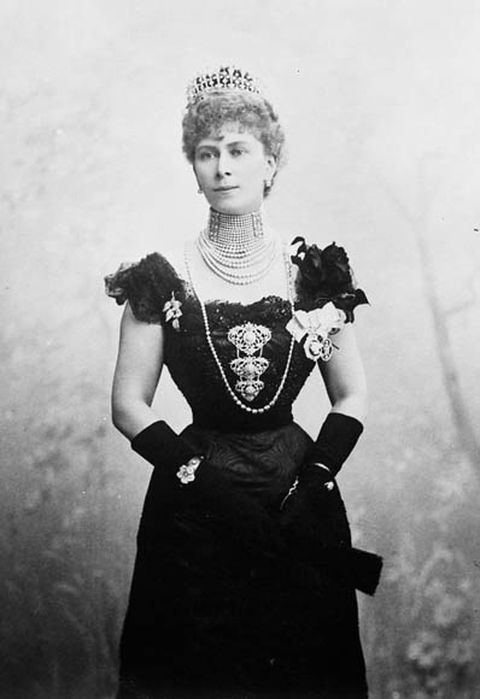 Princess Victoria Mary, the Duchess of Cornwall and York in 1901 at Ottawa, in Canada