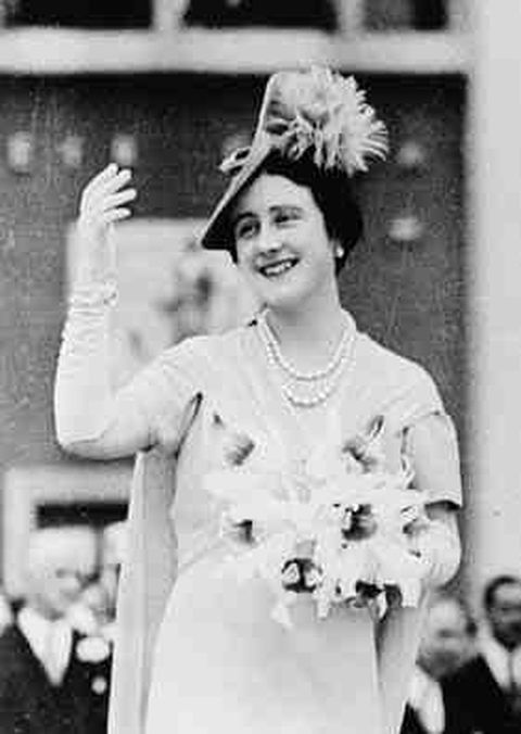 Queen Elizabeth Bowes-Lyon, Queen Consort of King George VI, at the 1939 New York World Fair