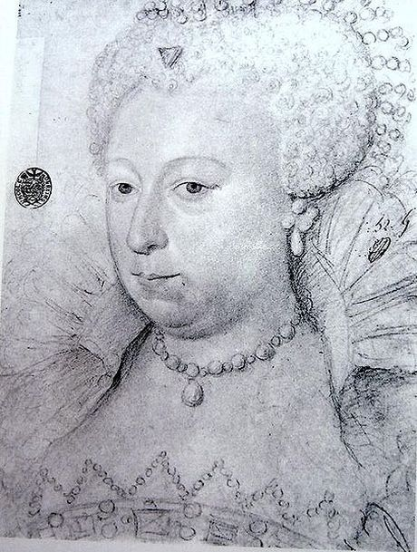 Queen Margaret of Valois in 1605 after separation from her husband