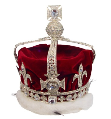The Queen mother's crown with the Koh-i-noor diamond