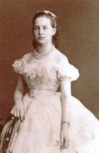Grand Duchess Olga Constantinova just before her marriage to King George I of Greece