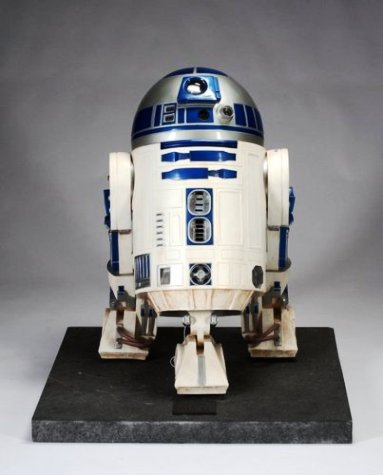 R2 D2 Star Wars Robot- Life size model from the Neverland Ranch Collection