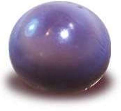 Rare Spherical Quahog pearl with a shimmering effect surpassing the beauty of some iridescent nacreous pearls