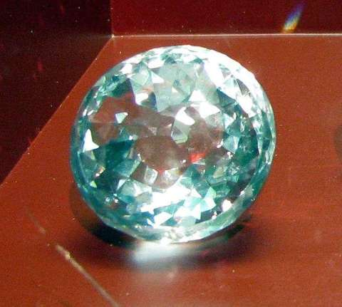 Replica of the long-lost, Mughal-cut, Great Mogul Diamond created from the drawings and descriptions of the diamond by Tavernier