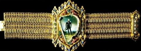 Gothic Style Bracelet incorporating the Russain Portrait Diamond