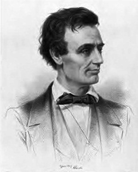 Sketch of young Abraham Lincoln
