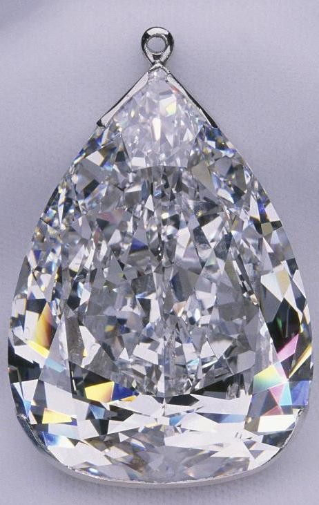Millennium Star Is A 203 04 Carat D Color Pear Shaped