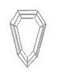 Standard Shield-shaped diamond