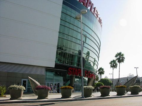 Staples Center- Venue of Jackson's Public Memorial Service