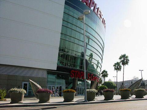 Staples Center- Venue of Jackson's Public Memorial Service