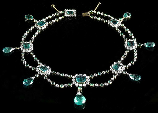 Beauharnis Emerald Collection Grand Duchess Stephanie