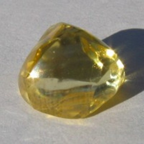 Sunshine diamond discovered by Bob Whele in 2006