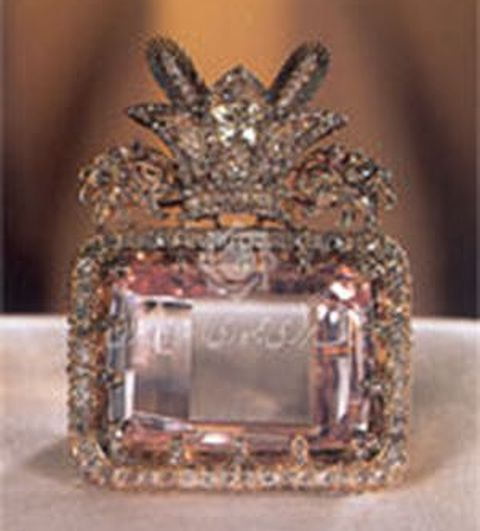 Table-cut Darya-i-Nur Diamond