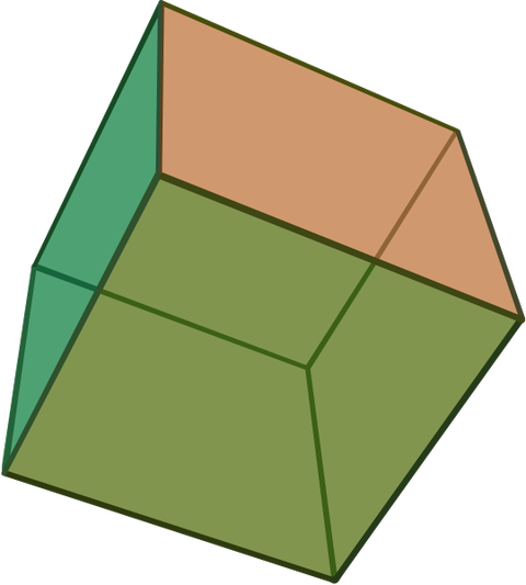 The Cube - rare diamond crystal form