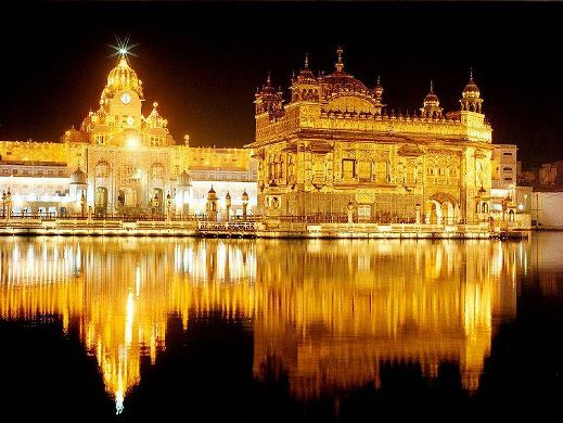 Harmandir Sahib-The Golden Temple at Amritsar