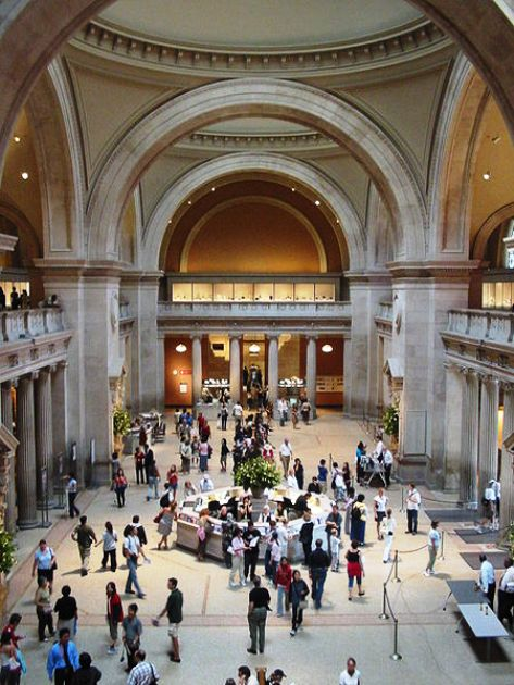 The Great Hall, Metropolitan Museum of Art, New York