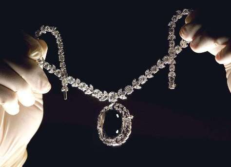 The notorious Black Orlov necklace, that was expected to be worn by Felicity Huffman at the Academy Awards 2006