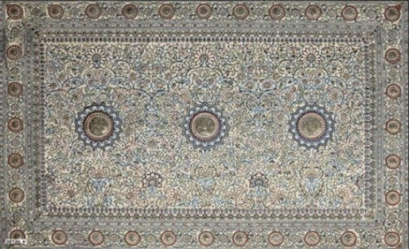 The Pearl Carpet of Baroda