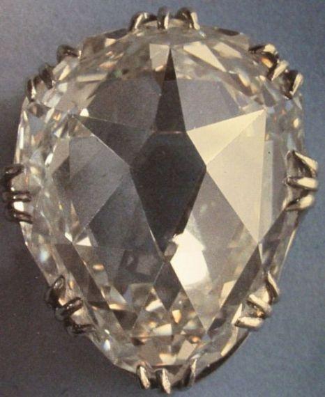 The Shield-shaped Sancy Diamond