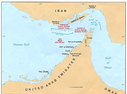 The Straits of Hormuz