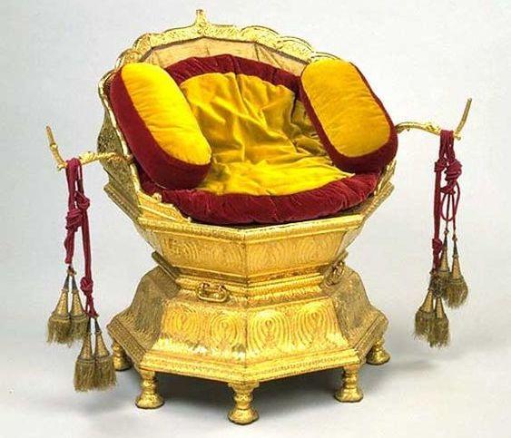 The Throne of Maharajah Ranjeet Singh-Designed by Hafiz Muhammad Multani