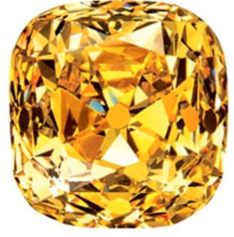 128.54-carat Tiffany Yellow Diamond